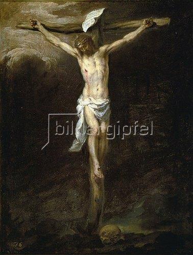 Bartolomé Estéban Murillo: Christus am Kreuz.