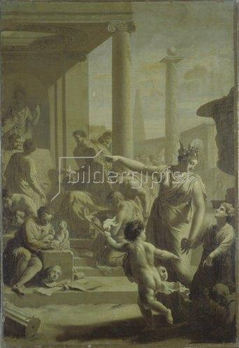 Adriaen van der Werff: Einführung in den Tempel der schönen Künste.