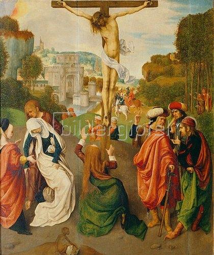 Maestro della Virgine inter Virgines: Kreuzigung Christi.