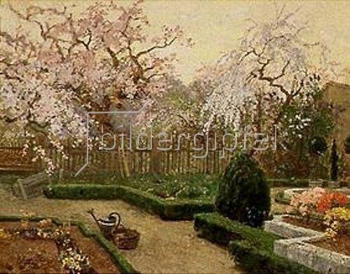 Paul Reiffenstein: Frühlingsgarten.