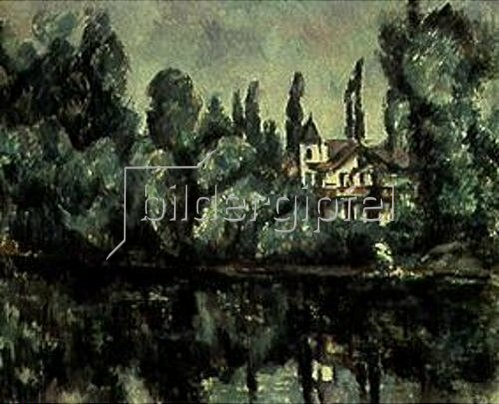 Paul Cézanne: Am Ufer der Marne. 1889.