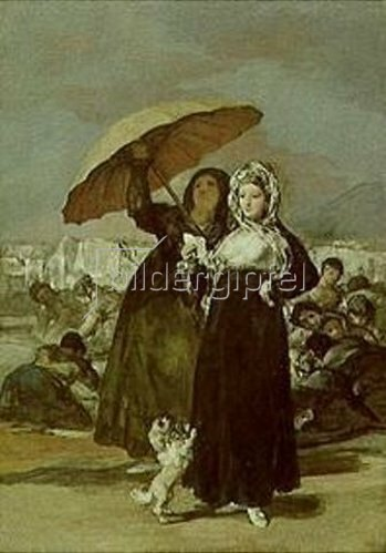 Francisco José de Goya: Der Spaziergang. 1808/1812.