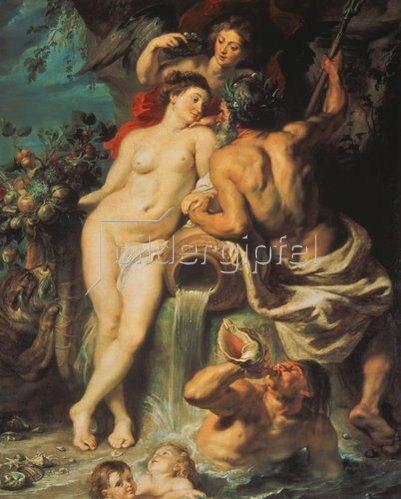 Peter Paul Rubens: Der Bund von Erde und Wasser. Um 1618.