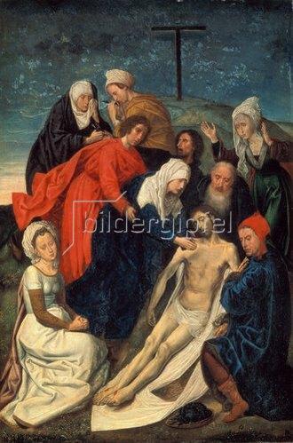 Hugo van der Goes: Die Beweinung Christi.