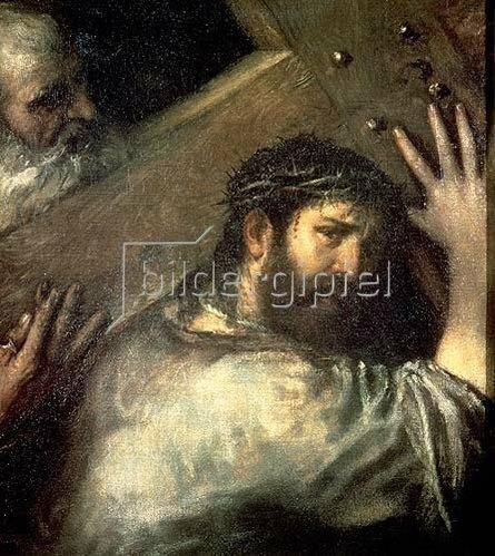 Tizian (Tiziano Vecellio): Die Kreuztragung. 1560-er Jahre.