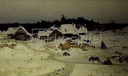 Vasilij Dimitrijew Polenow: Winter im Dorf (Imogenzy).