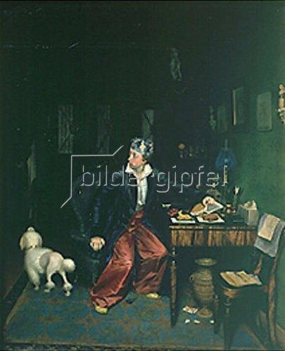 Pawel Fedotow: Das Frühstück des Aristokraten. 1849/50.