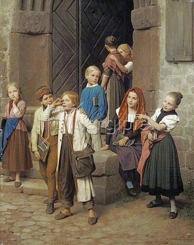 Friedrich Eduard Meyerheim: Wer den Schaden hat, braucht für den Spott nicht zu sorgen. 1861.