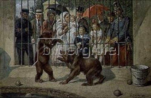 Theodor Breitwieser: Im Zoo.