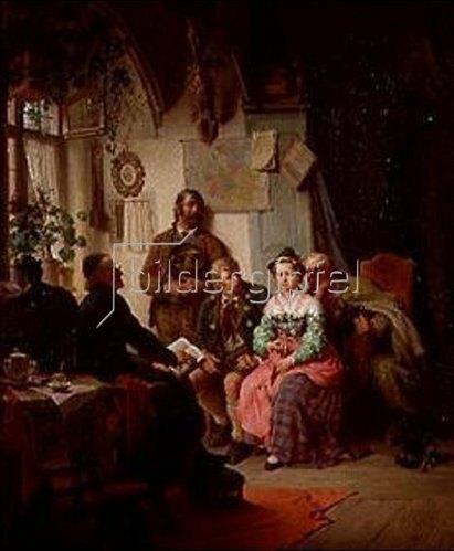Peter Baumgartner: Der Ehevertrag. 1866.