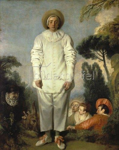 Jean Antoine Watteau: Gilles. Um 1718-19