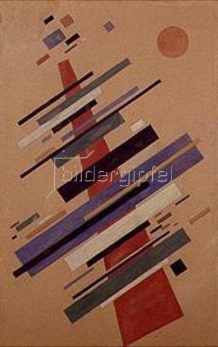 Nina Kogan: Grosse suprematistische Komposition. 1922.