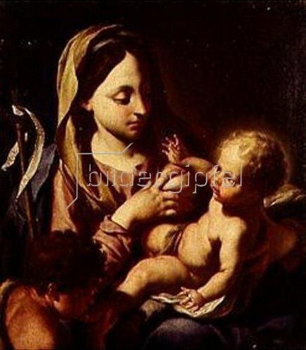 Francesco Trevisani: Madonna mit dem Christuskind und dem Johannesknaben.