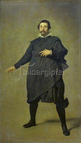 Diego Rodriguez de Velazquez: Der Hofnarr Pablo de Valladolid. 1632/34