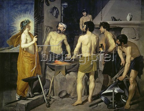 Diego Rodriguez de Velazquez: Die Schmiede des Vulkan. 1630.