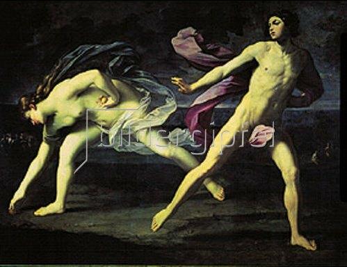 Guido Reni: Atalanta und Hippomenes.