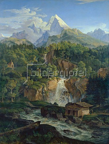 Ludwig Richter: Der Watzmann. 1824
