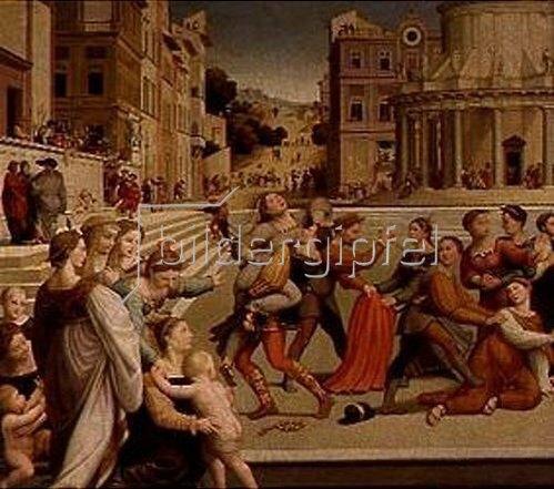 Giuliano Bugiardini: Die Entführung der Diana. 1531