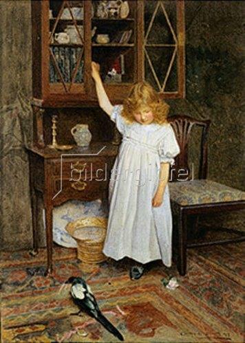 Carlton Alfred Smith: Das Mädchen und die diebische Elster. 1897.