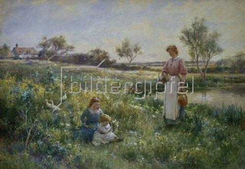 Carlton Alfred Smith: In der Sommerwiese. 1903.