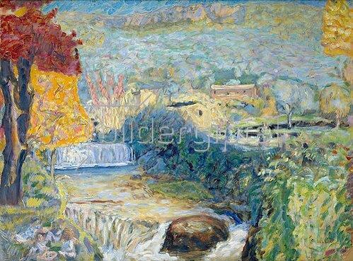 Pierre Bonnard: Die Wasserfälle von Grasse.