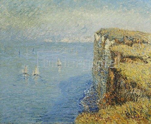 Gustave Loiseau: Normannische Steilküste (Les Falaises). 1901.
