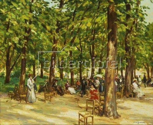 Tavik Frantisek Simon: Nachmittag im Jardin du Luxembourg