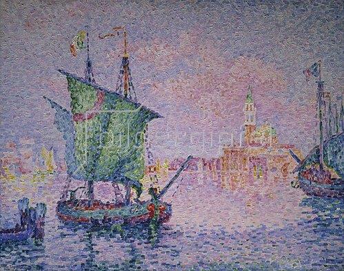 Paul Signac: Venedig, die rosa Wolke. 1909.