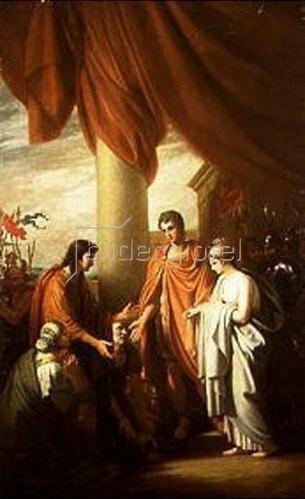 Benjamin West: Die Enthaltsamkeit des Scipio.