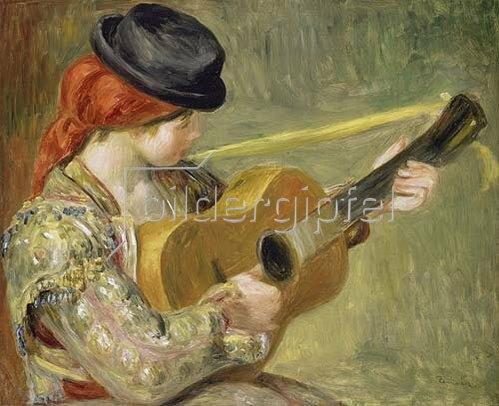 Auguste Renoir: Mädchen mit Gitarre.