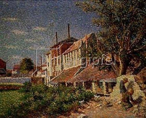 Maximilien Luce: Les Tanneries (Bievre). 1887.