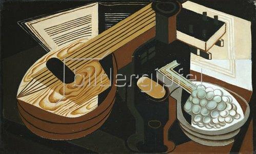 Juan Gris: Die Mandoline. 1921.