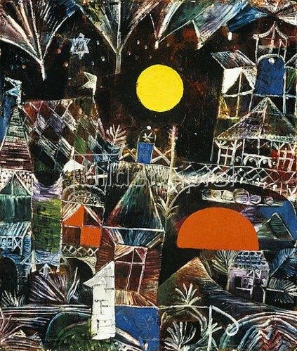 Paul Klee: Mondaufgang - Sonnenuntergang. 1919