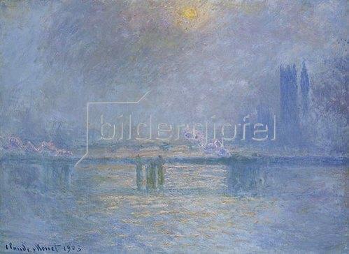 Claude Monet: Die Charing-Cross-Brücke über die Themse. 1903