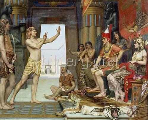 Reginald Arthur: Joseph deutet den Traum des Pharao.