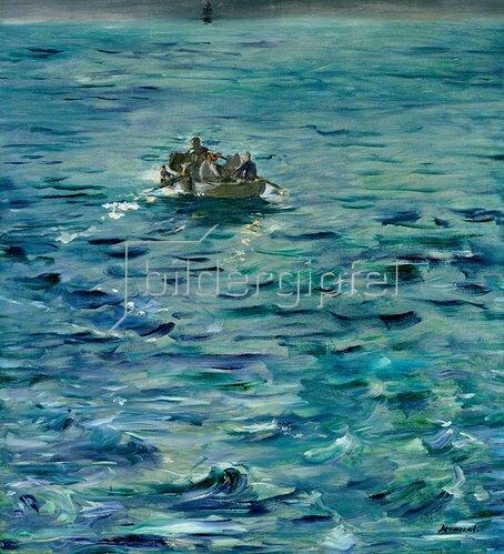 Edouard Manet: Die Flucht von Henri de Rochefort, 1874