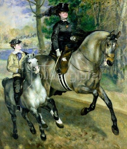 Auguste Renoir: Reiterin im Bois de Boulogne