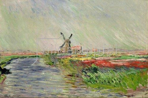 Claude Monet: Tulpenfeld in Holland