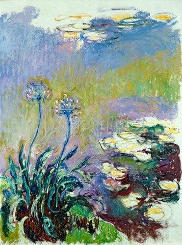 Claude Monet: Die Schmucklilie (Agapanthus), 1914-17