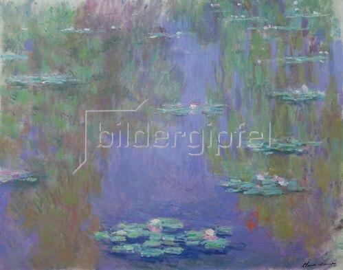 Claude Monet: Nympheas, Wasserlilien, 1903