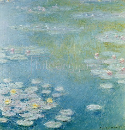 Claude Monet: Nympheas at Giverny, 1908
