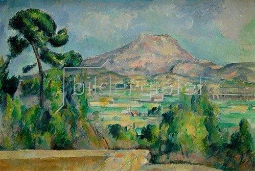 Paul Cézanne: Montagne Sainte-Victoire, c.1887-90