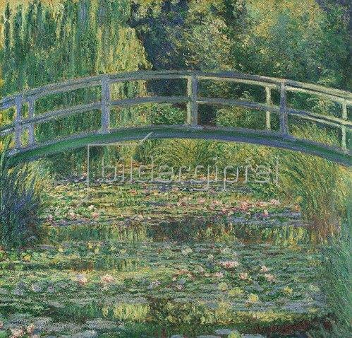 Claude Monet: Waterlily Pond, 1899