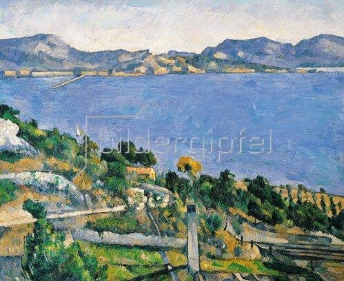 Paul Cézanne: Blick auf die Bucht von Marseille