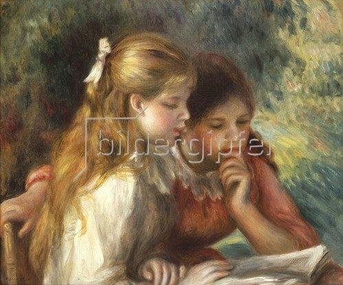 Auguste Renoir: Das Lesen, um 1894