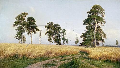 Iwan Iwanowitsch Schischkin: Das Weizenfeld (The Field of Weath) 1878