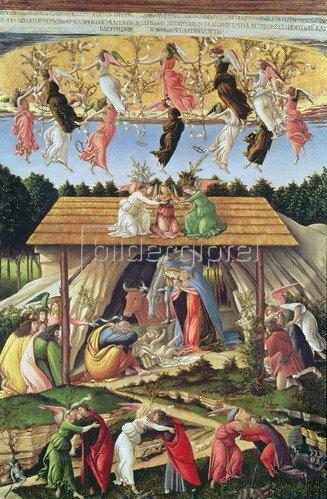 Sandro Botticelli: Mystische Geburt, 1500