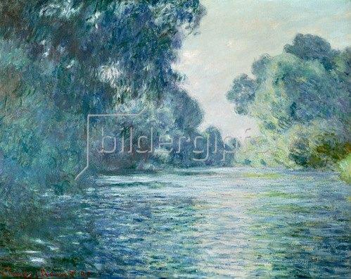 Claude Monet: Arm der Seine bei Giverny, 1897