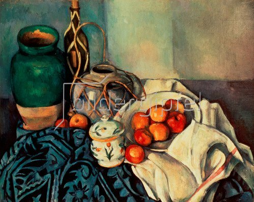 Paul Cézanne: Stillleben mit Äpfeln, 1893-94