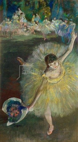Edgar Degas: Ende von Arabeske, 1877